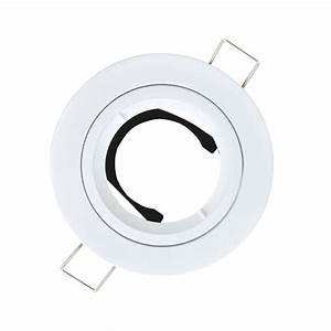 Spot Encastrable Leroy Merlin : anneau pour spot encastrer bbc fixe sans ampoule gu10 ~ Melissatoandfro.com Idées de Décoration