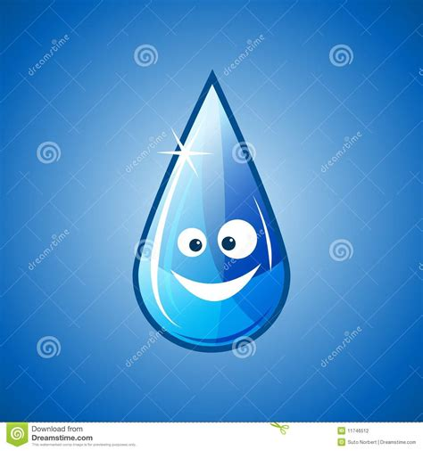 happy water drop stock photography image