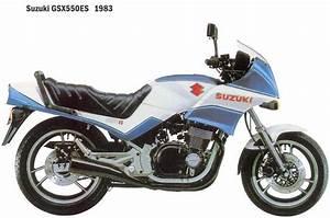 Suzuki Gsx550 1982