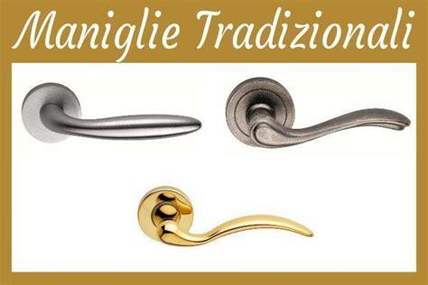 Maniglie Per Porte Interne by Maniglie Di Design Tradizionali Porte Interne Torino