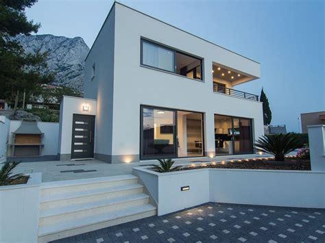 Moderne Villa Mit Pool by Moderne Villa Mit Pool Bei Baska Voda Baška Voda Firma