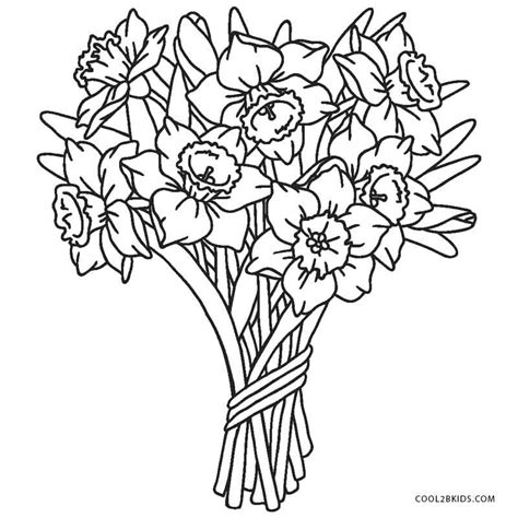 coloring page flowers free printable flower coloring pages for cool2bkids
