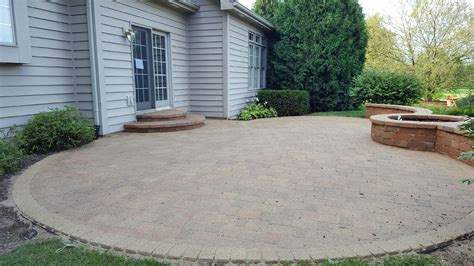 st charles il brick patio cleaned sanded and sealed by