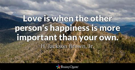 love     persons happiness