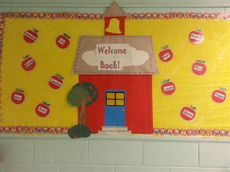 preschool bulletin board ideas for back to school welcome back to school crafts for preschoolers vinegret 926