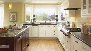 off white kitchen cabinets omega cabinetry With kitchen colors with white cabinets with custom offsets sticker