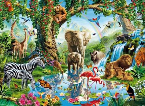 la jungla recurso educativo  tiching