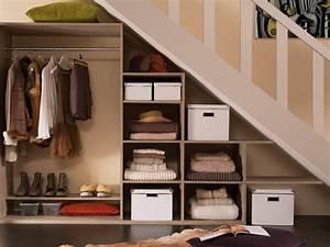 comment creer un dressing sous un escalier leroy merlin With meuble cuisine petit espace 16 escalier maison bois moderne deco maison moderne