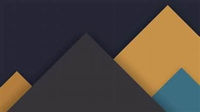Pattern Material Dark Yellow Lollipop Android Desktop
