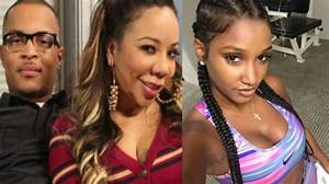 Tiny & Bernice Burgos Go Back and Forth About T.I. Online  Tiny