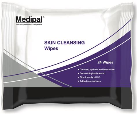 Medical Skin Cleansing Wipes & Mitts | Medipal