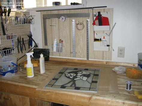 photo  workshop setup layout storage workbench