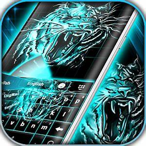 Download Neon Keyboard Tiger for PC