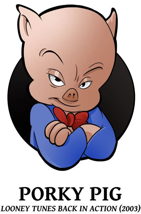 25 looney of christmas 2 porky pig by boscoloandrea on