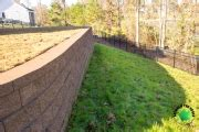 landscaping lawn care  retaining walls