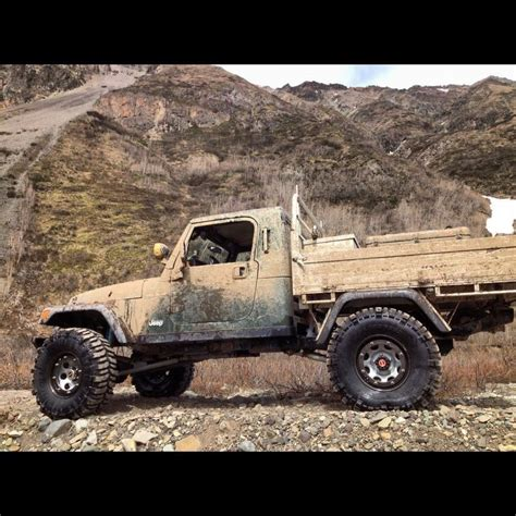 Jeep Wrangler Truck Bed by Custom Jeep Tj Truck Bed Vehicle Offroad