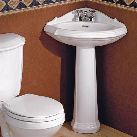 corner bathroom sink ideas 25 best ideas about corner pedestal sink on