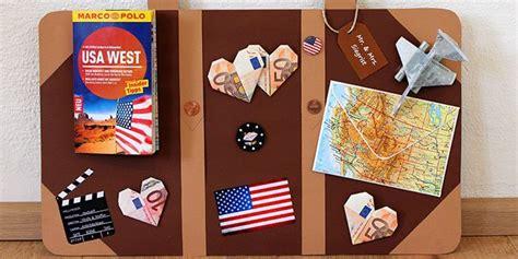 geldgeschenk zu hochzeit fuer reisefans reisekoffer basteln