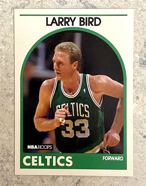 We did not find results for: Larry Bird 1989-90 NBA Hoops Basketball Card - KBK Sports