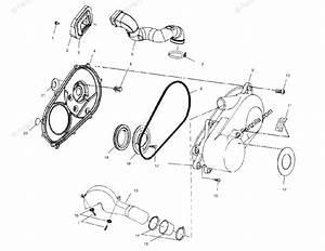 Polaris Atv 2001 Oem Parts Diagram For Clutch Cover