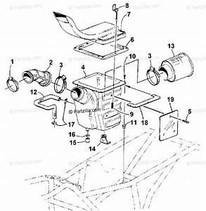 Arctic Cat Atv 2001 Oem Parts Diagram For Air Intake