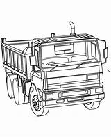 Plow Coloring Truck Pages Dump Snow Printable Getcolorings Print sketch template