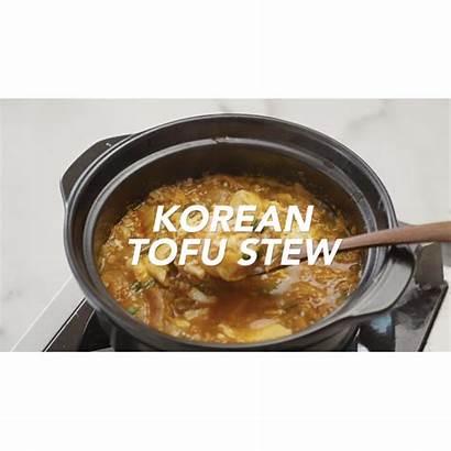 Tofu Korean Soft Soup Recipe Stew Comforting