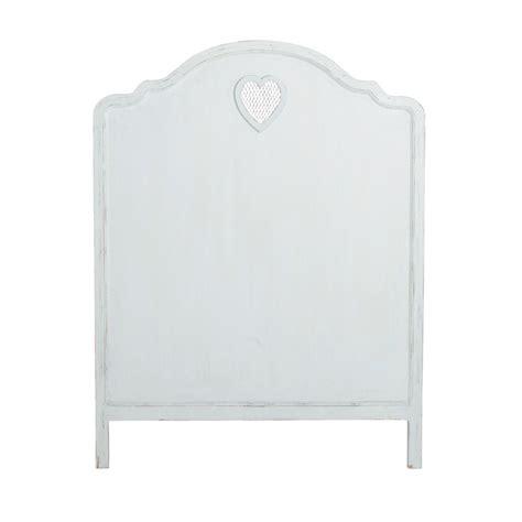 modele de chambre pour ado garcon tête de lit en bois blanc l 90 cm maisons du monde