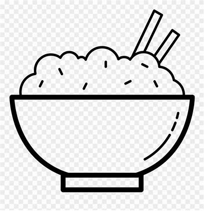 Rice Bowl Clipart Icon Pinclipart Clip