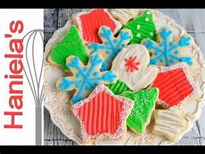 Christmas Cookies Decorated with Butter Frosting Recipe