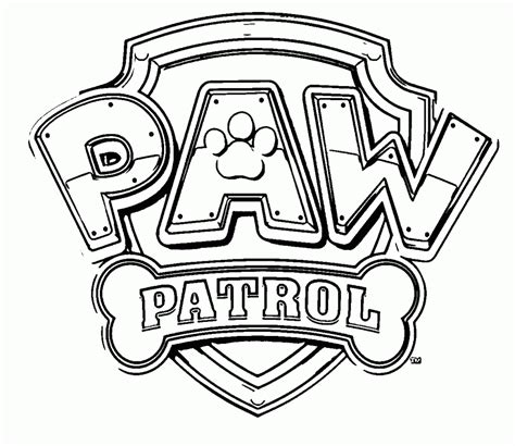 Kleurplaat Paw Patrol Logo by Paw Patrol Kleurplaat Kleurplaten 5 Kleurplaat Kleuren Net