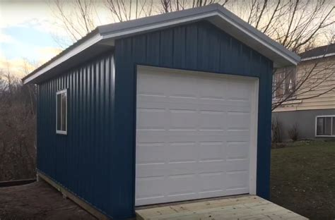 10 X 20 Garage by Gallery Premium Pole Building And Storage Sheds