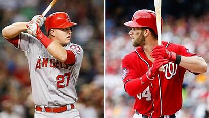 Harper Bryce Trout Mike Wallpapers Fantasy Baseball