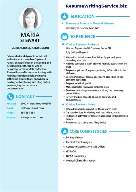 clinical research assistant resume sle resume writing