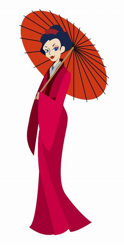 Clipart Japanese Clip Cartoon Mexican Traditional Cliparts