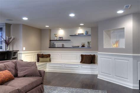 elegant finished basement dave fox