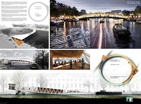 Gallery of Amsterdam Iconic Pedestrian Bridge Competition