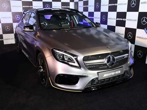 Lowest first information mercedes benz cla 250 2017. mercedes: 2017 Mercedes-AMG CLA 45 and GLA 45 launched in India - Times of India