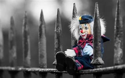 Clown 4k Clowns Wallpapers Klaun Zabawka Fence