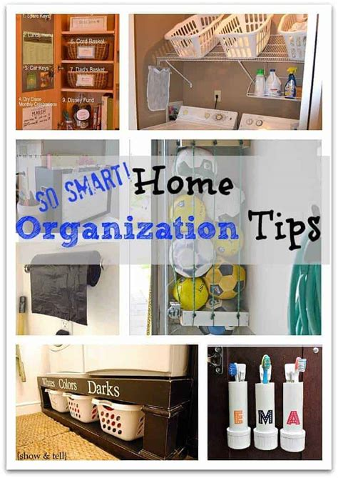 Ideas Organizing by Home Organization Tips So Smart Page 2 Of 2