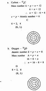 New Simplified Chemistry Class 8 Icse Solutions - Atomic Structure
