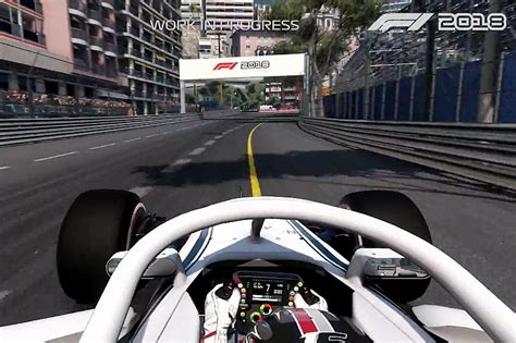 formel 1 2018 pc gameplay footage released for f1 2018