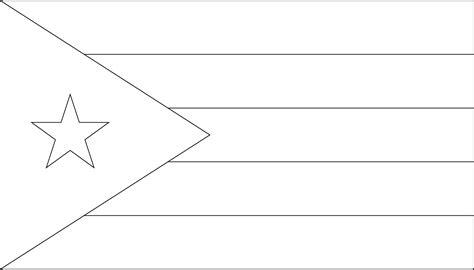 printable cuban flag coloring worksheet flag images