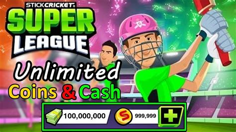 stick cricket league hack unlimited coins and