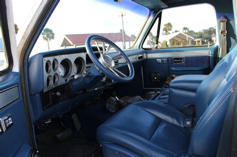 k5 blazer interior 1987 k5 blazer 4x4 k 5 custom convertible vert new
