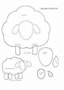 25 best ideas about sheep crafts on pinterest lamb With lamb template to print