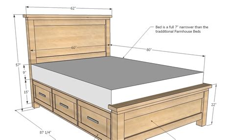 carv  diy captains bed plans