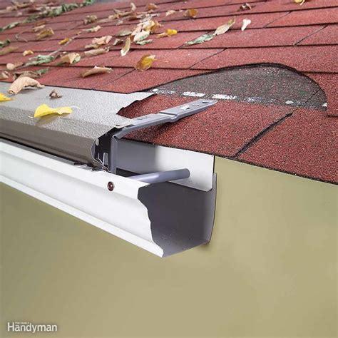 easy gutter fixes family handyman