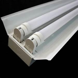 Factory Price T8 Iron 120cm Led Double Tubes Fixture Tube Light Holder