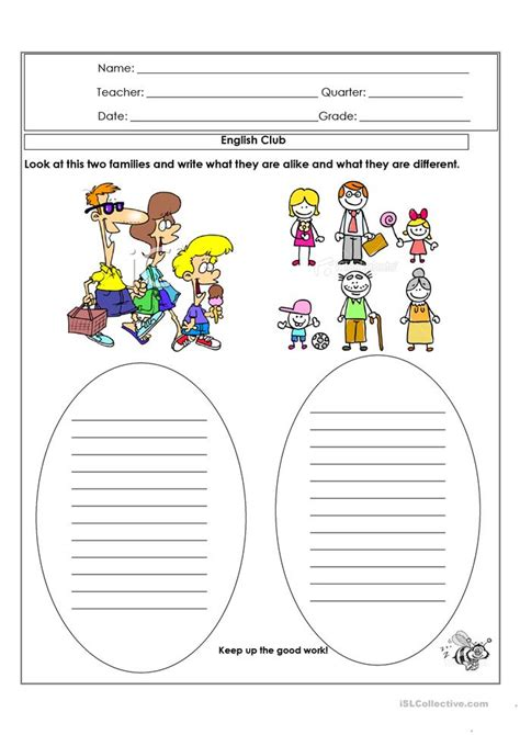 Alike And Different Worksheet  Free Esl Printable Worksheets Made By Teachers